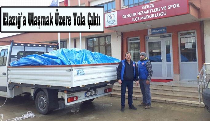 Gerze De Elazığ'a El Uzattı