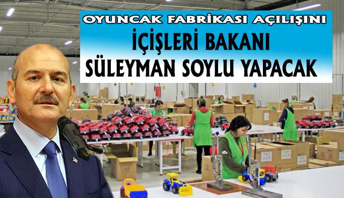 Polesie Oyuncak Fabrikası Açılışını Gerçekleştiriyor