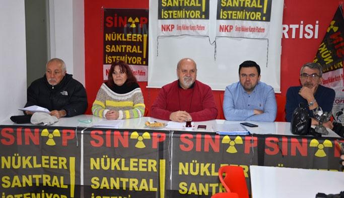Sinop NKP'den Basın Açıklaması