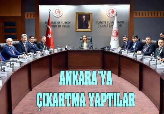 Sinop'tan Ankara çıkartması!