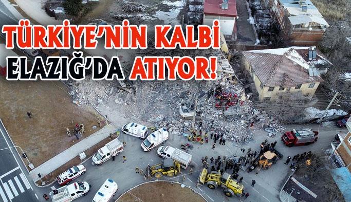Türkiye Elazığ İçin Bir Oldu