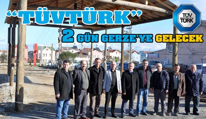 TÜVTÜRK Tekrar Gerze'de