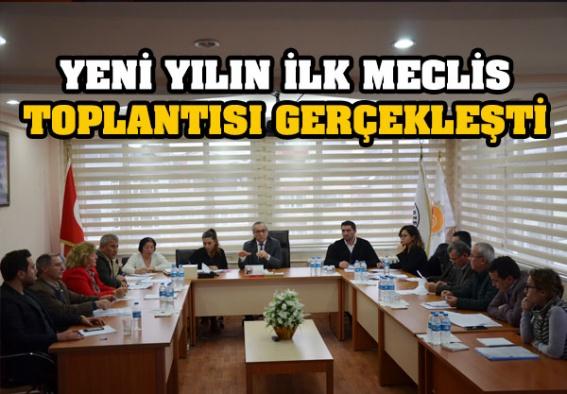Yeni Yılın İlk Belediye Meclis Toplantısı Gerçekleşti