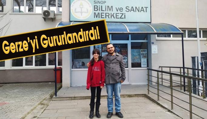 Gerze Atatürk Ortaokulundan Başarı