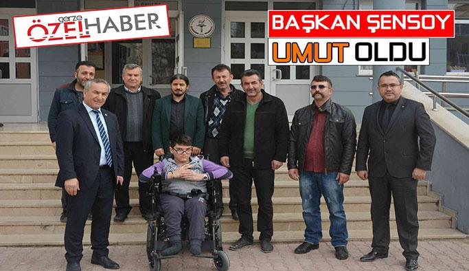 """ŞENSOY """"UMUT"""" OLDU"""