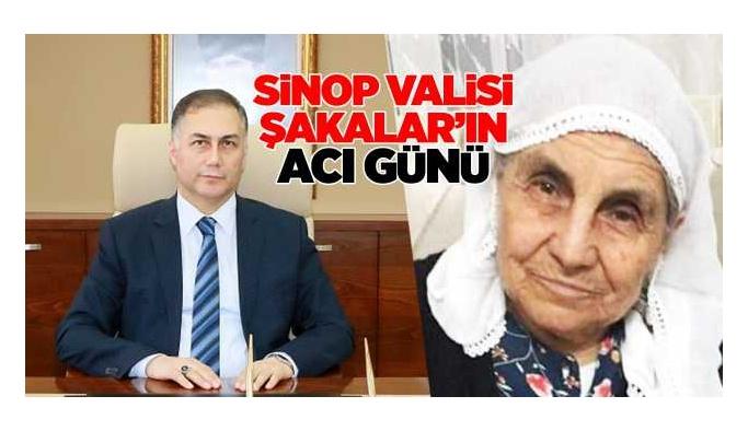 Sinop Valisinin Acı Günü