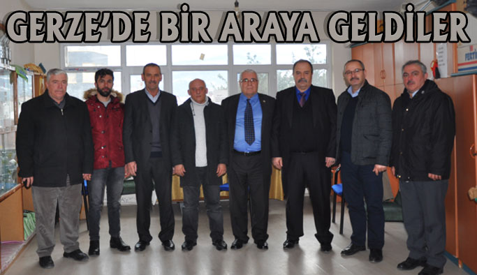 Şubat Ayı Toplantısı Gerze'de Yapıldı