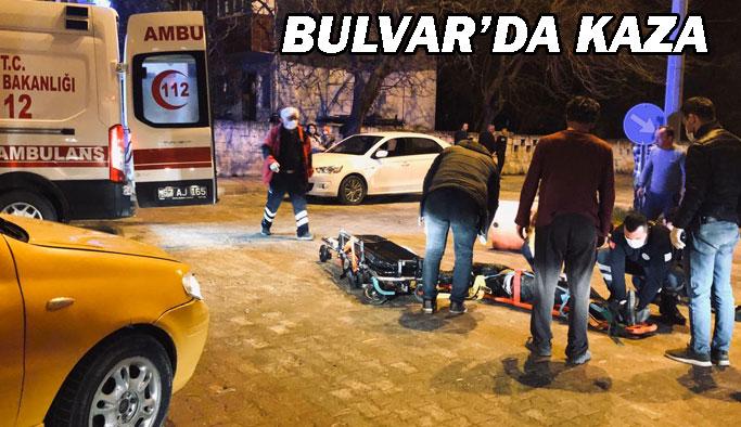 Bulvar'da Trafik Kazası