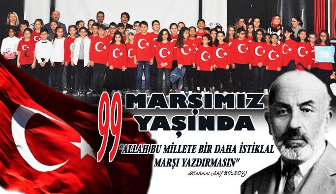 İstiklal Marşı 99 Yaşında