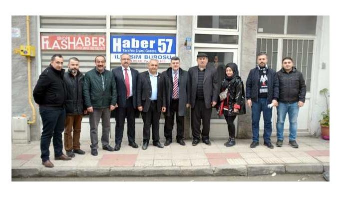 Sinop'ta Yerel Gazeteler Bir Araya Geldi