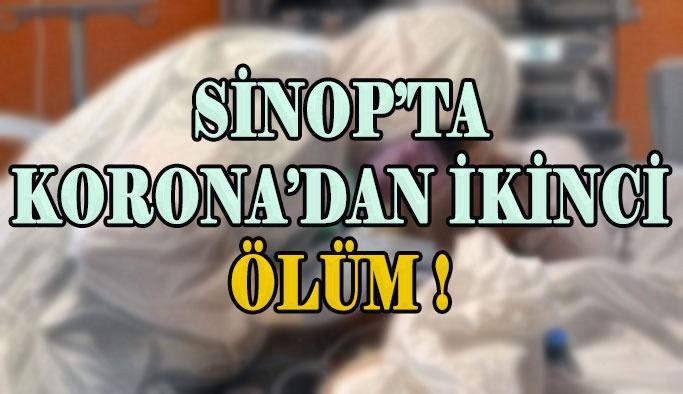 Sinop'ta İkinci Korona Virüs Ölümü Gerçekleşti