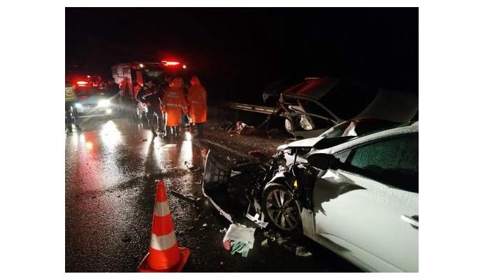 Trafik Kazasında Dört Kişi hayatını Kaybetti