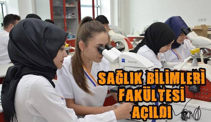 Sinop Üniversitesi Sağlık Bilimleri Fakültesi Açıldı