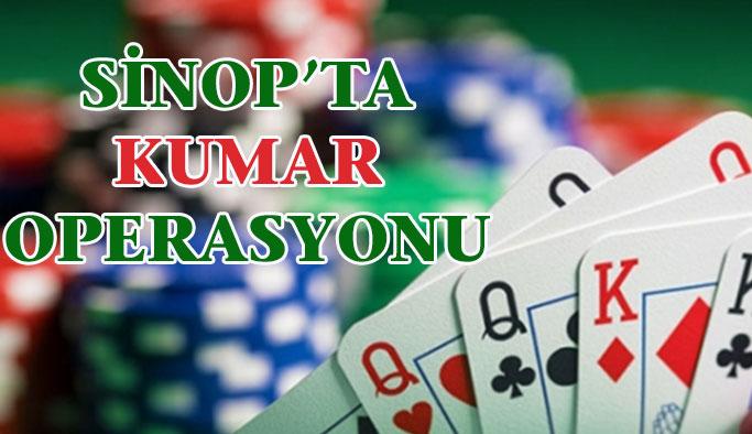 Sinop'ta Kumar Operasyonu