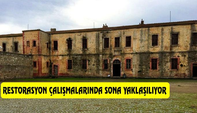 Tarihi Sinop Cezaevi Restore Ediliyor