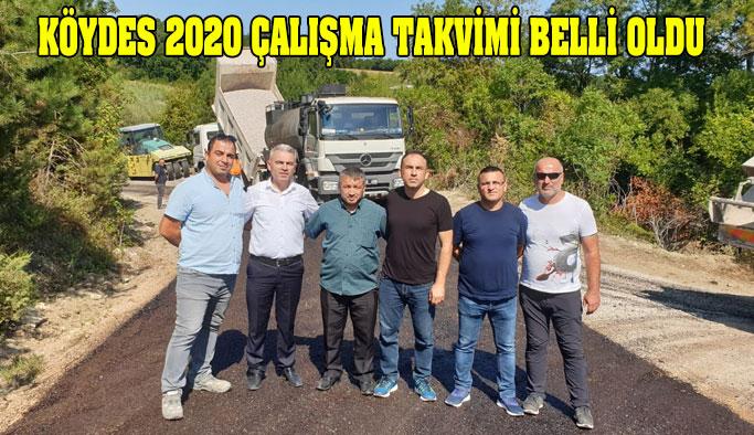 2020 KÖYDES Programı Belli Oldu
