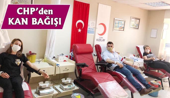 CHP'den Kan Bağışı