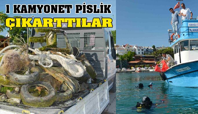 Balıkadamlar, Bu Seferde Deniz Dibini Temizledi