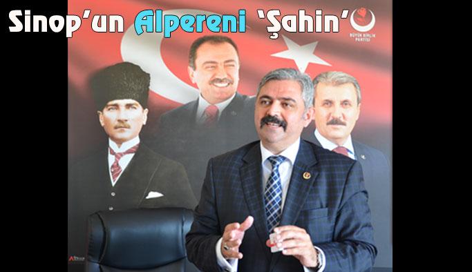 BBP Sinop İl Başkanlığı Görevine Tahir Şahin Atandı