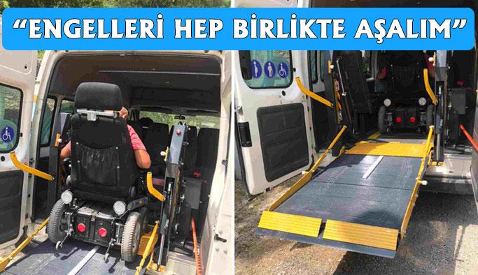 Engelli Aracı Hizmete Başladı