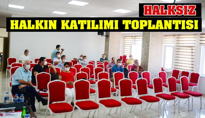 Halkın Katılımı Toplantısı Yapıldı