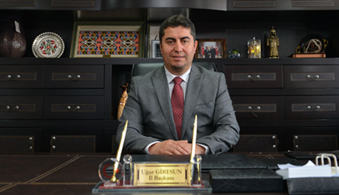 İl Başkanı Uğur Giresun'dan 15 Temmuz Mesajı