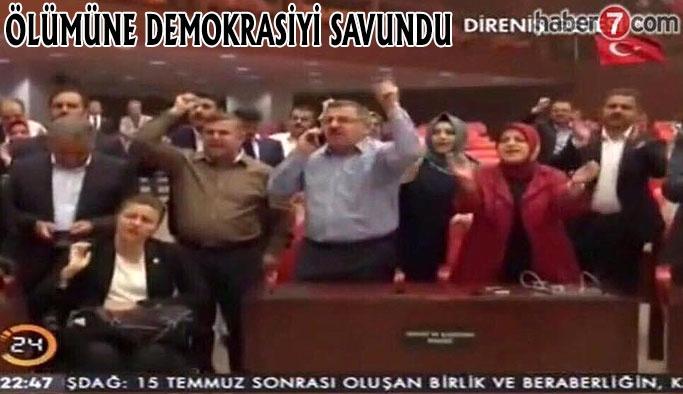 Maviş'in 15 Temmuz Demokrasi Ve Milli Birlik Günü Mesajı