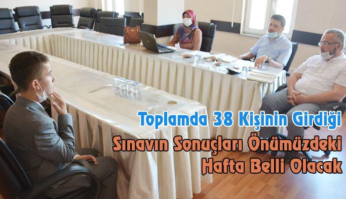 Sinop'ta Hafızlık Tespit Sınavı Yapıldı