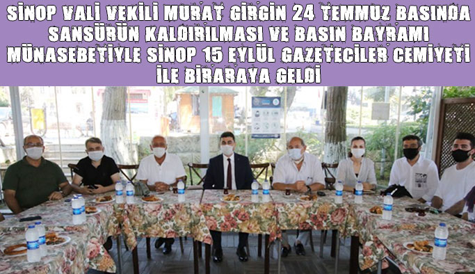 Vali Vekili Murat Girgin Basın Mensuplarıyla Buluştu