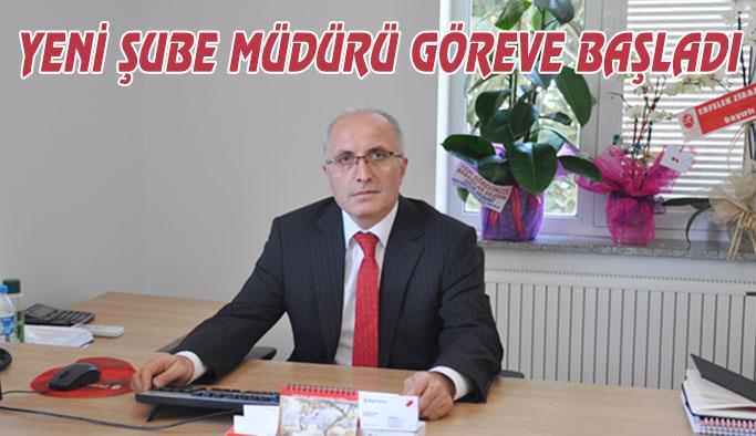 Ziraat Bankası'na Yeni Şube Müdürü Atandı
