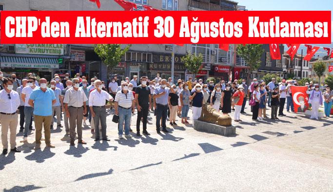 CHP İlçe Teşkilatından Alternatif Kutlama