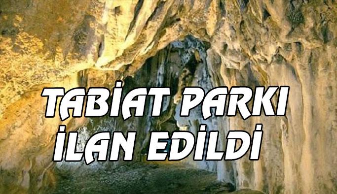 İnaltı Mağarası Tabiat Parkı İlan Edildi