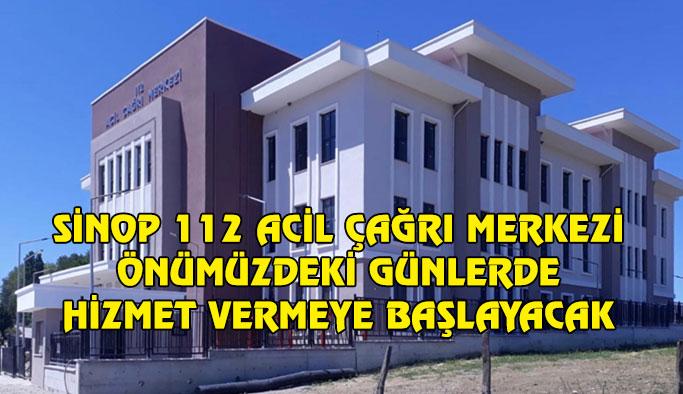 Sinop 112 Acil Çağrı Merkezi Binası Tamamlandı
