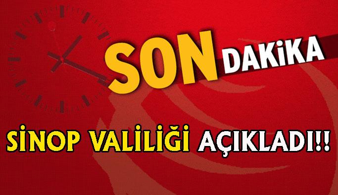 Sinop Valiliği'nden Flaş Karar!