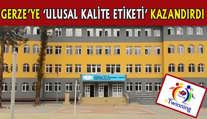 Öğretmenlerimize 'Kalite Etiketi'