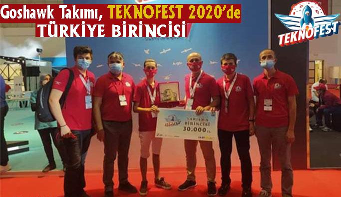 TEKNOFEST'te Türkiye Birinciliği