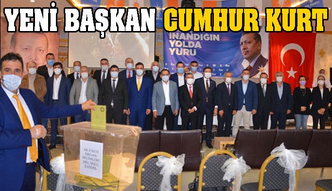 Ak Parti'nin Yeni İlçe Başkanı Cumhur Kurt