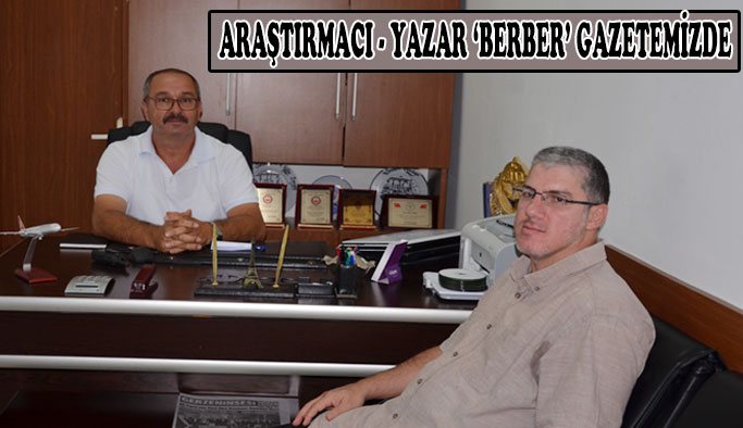 Araştırmacı Yazar Volkan Yaşar Berber Gerzeninsesi'nde