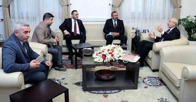 Başkan Şanlan, Akşener ve Kılıçdaroğlu ile görüştü