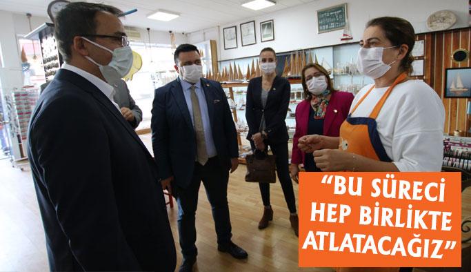 CHP Heyetinden Kobi Ziyareti
