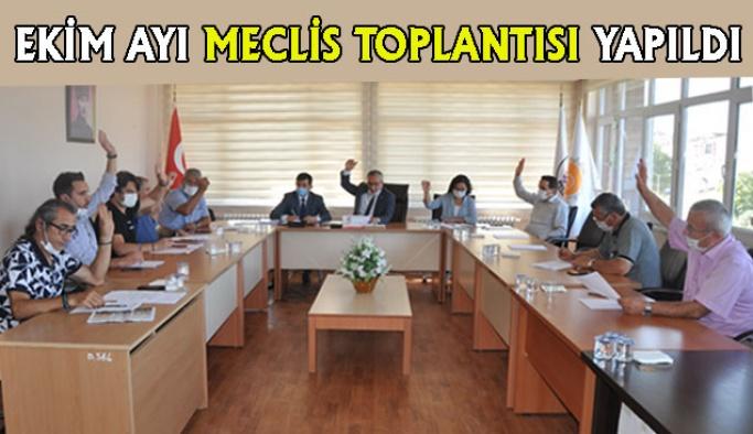 Ekim Ayı Meclis Toplantısı