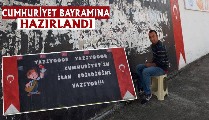 Gazeteci Çocuk da Cumhuriyet Bayramı İçin Hazırlandı