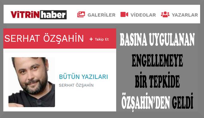"""ÖZŞAHİN'DEN """"SİNOP BASININI RAHATSIZ EDEN OLAY"""" ÜZERİNE"""