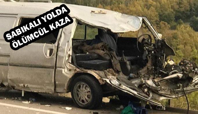 Sabıkalı Yolda Yine Ölümlü Kaza