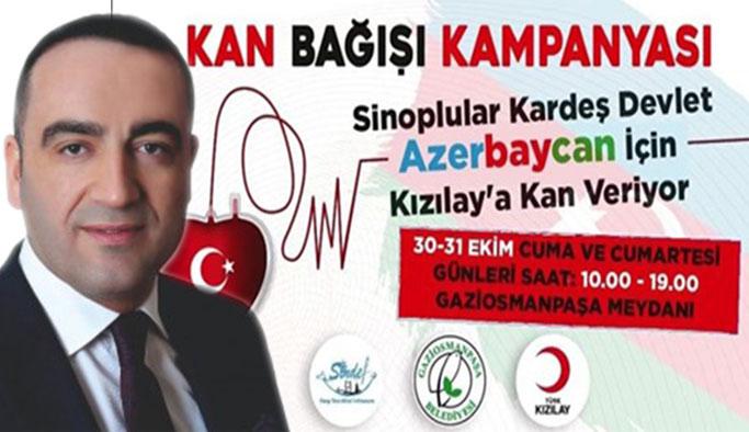 SİNDEF'ten Azerbaycan'a kan desteği