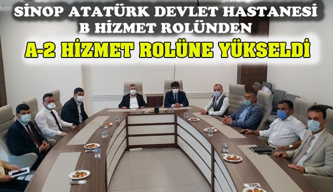 Sinop Atatürk Devlet Hastanesi Sınıf Atladı