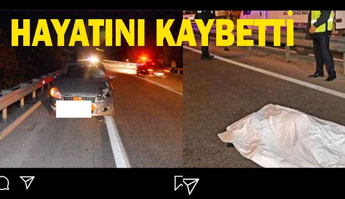 Tıngıroğlu Mevkiinde Korkunç Kaza