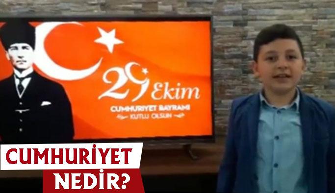 """Ülkemizin Geleceğinden, """"Cumhuriyet Nedir? """""""