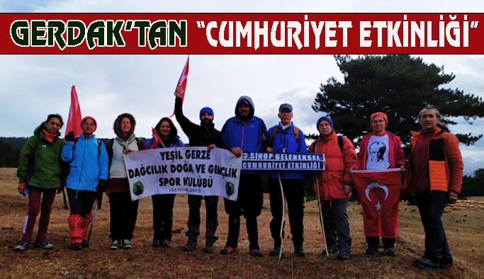 3'üncü Sinop Geleneksel Cumhuriyet Etkinliği Gerçekleşti