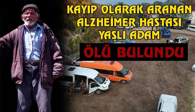 Alzheimer Hastası Adam Ölü Bulundu